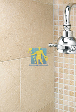 limestone tile shower thala cream perth cleaning
