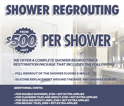 Shower Regrouting. Perth Tile Regrouting Services   Perth Tile Solutions